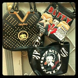 3 Bag Betty Boop Collection